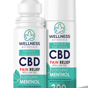 CBD pain relief roll on gel